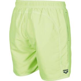 arena Fundamentals Solid Zwemboxers Heren, shiny green-navy